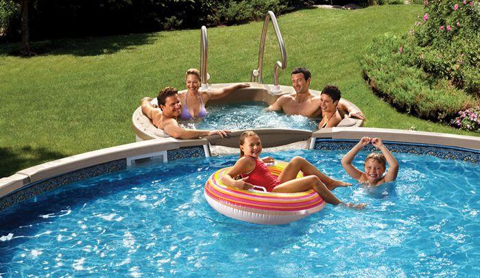 бассейн по детской карте купить